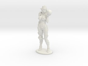 Dark Queen Syx VARIANT - 200mm (approx 8 inches) in White Natural Versatile Plastic