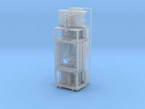 Magirus_D_Rosenbauer_GTLF6_Fgst-Aufbau_v1 in Smoothest Fine Detail Plastic