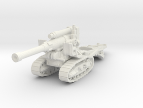 B4 howitzer scale 1/87 in White Natural Versatile Plastic