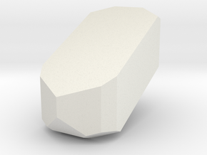 Orthoclase 1 in White Natural Versatile Plastic