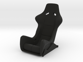 Race Seat RType 8 - 1/10 in Black Natural Versatile Plastic