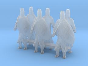 1-87 templar knights in Smooth Fine Detail Plastic