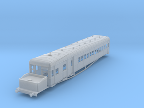 o-148fs-lner-clayton-steam-railcar-d92 in Smooth Fine Detail Plastic