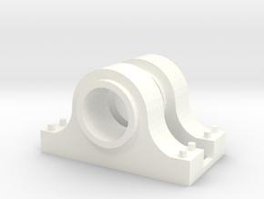 Flywheel bearing set in White Processed Versatile Plastic