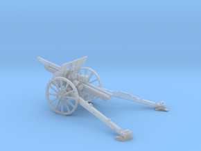1/56 IJA Type 91 105mm Howitzer in Smooth Fine Detail Plastic
