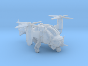 Fallout 4 VB-02 VTOL Vertibird in Smooth Fine Detail Plastic