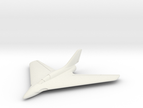 (1:144) Messerschmitt Me P.1111 in White Natural Versatile Plastic