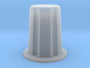 Rotary encoder knob for 6mm shaft in Smooth Fine Detail Plastic: Medium