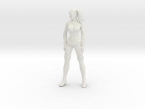 Printle V Femme 1222 - 1/24 - wob in White Natural Versatile Plastic