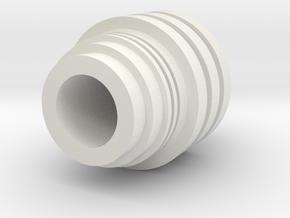 Code Cylinder Kids for Wood Dowel in White Natural Versatile Plastic