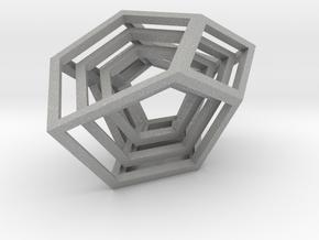 Encompassing Shard - Pendant in Aluminum