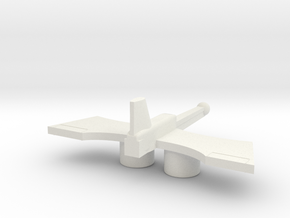 Acroyear Drone in White Natural Versatile Plastic
