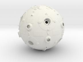 1/3rd Scale Jedi Training Remote in White Natural Versatile Plastic