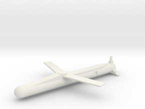 MBDA SPEAR 3 Wings extended 1/72 in White Natural Versatile Plastic