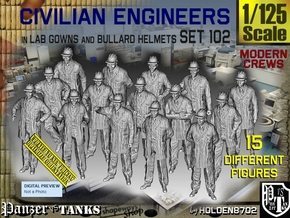 1/125 Engineers Set102 in Smooth Fine Detail Plastic