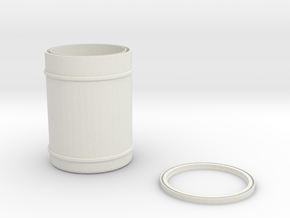 can cooler in White Natural Versatile Plastic