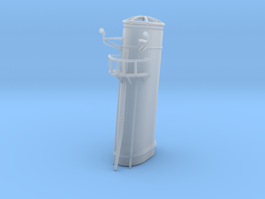 1/96 HMS Garland funnel 2 in Smooth Fine Detail Plastic