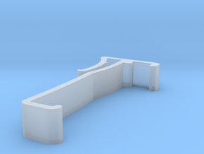 Blind Valance Clip 00142 in Smooth Fine Detail Plastic