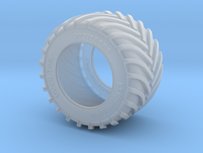 1/87 LSW 1400 Tyre in Smooth Fine Detail Plastic: 1:87 - HO