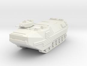 AAV-7 scale 1/72 in White Natural Versatile Plastic