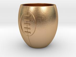 Espresso Rugby in Natural Bronze