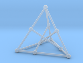 Petersen graph in Smooth Fine Detail Plastic