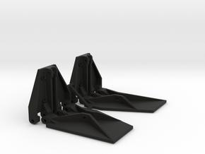 K Plane Trim Tabs in Black Premium Versatile Plastic: 1:10