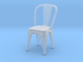 Miniature Tolix Chair - Tolix in Smooth Fine Detail Plastic: 1:12