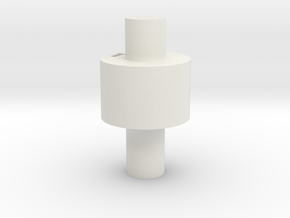 MK1 Weapon pod connector in White Natural Versatile Plastic