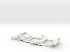 Carrera Universal 132 Chassis Corvette Greenwood in White Natural Versatile Plastic