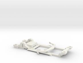 Carrera Universal 132 Chassis Corvette Greenwood in White Natural Versatile Plastic