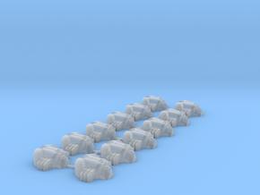 (12) NecroBeetles Variant 1 in Smooth Fine Detail Plastic