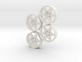 MST 326Power Yabaking wheel changeable in White Natural Versatile Plastic