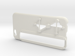 Structure Sensor Case - iPhone 6 by Max Tönnemann in White Premium Versatile Plastic