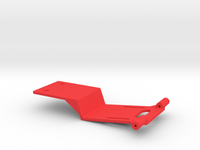 TRX4 Competition Battery/Electronics Tray in Red Processed Versatile Plastic
