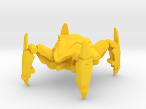 1/60 Game Piece Dragoon in Yellow Processed Versatile Plastic