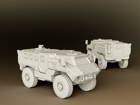 MRAP RG35 MIV Scale: 1:200 in Smooth Fine Detail Plastic