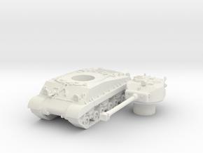 M4A3E8 76 scale 1/87 in White Natural Versatile Plastic