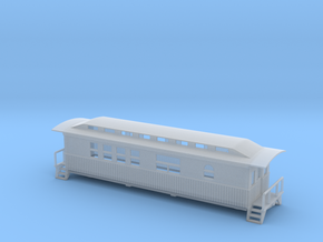 Overton Studio Car - Zscale in Smooth Fine Detail Plastic