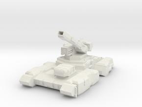 Tyrantei Heavy Tank  in White Natural Versatile Plastic