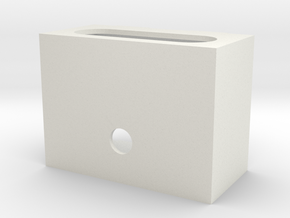 Neilson Firebox lower in White Natural Versatile Plastic