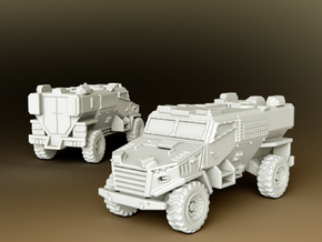 Foxhound LPPV Scale: 1:100 in Smooth Fine Detail Plastic