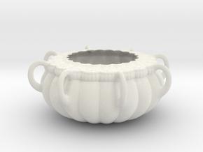 Vase 016 in Matte Full Color Sandstone