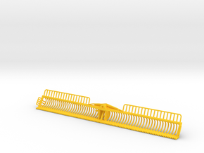 Maaikorf 6 meter in Yellow Processed Versatile Plastic