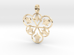 CASTING MAGICK in 14K Yellow Gold