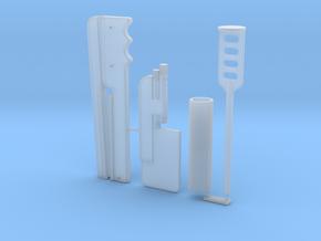 Boba Fett ESB Shin Tools 1/6th Scale in Smooth Fine Detail Plastic