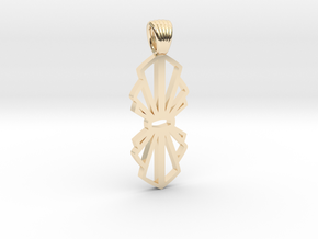 Node [pendant] in 14K Yellow Gold