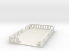 ElModCaseV3 in White Natural Versatile Plastic