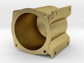 "3/4"" Locomotive Brake Cylinder Body in Natural Brass"