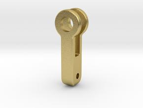 "3/4"" EMD Brake Push Rod in Natural Brass"